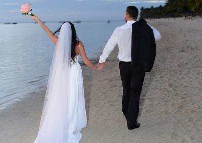 Ślub na Mauritiusie Aleksandra i Krystian
