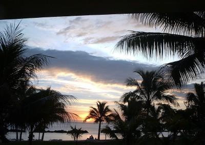 zachód słońca mauritius